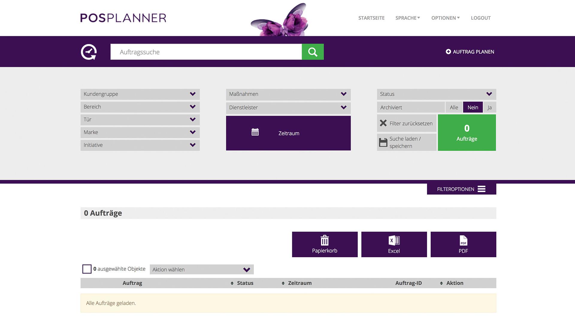 Prozesse managen dietz DYNAMIC PLAN Startseite