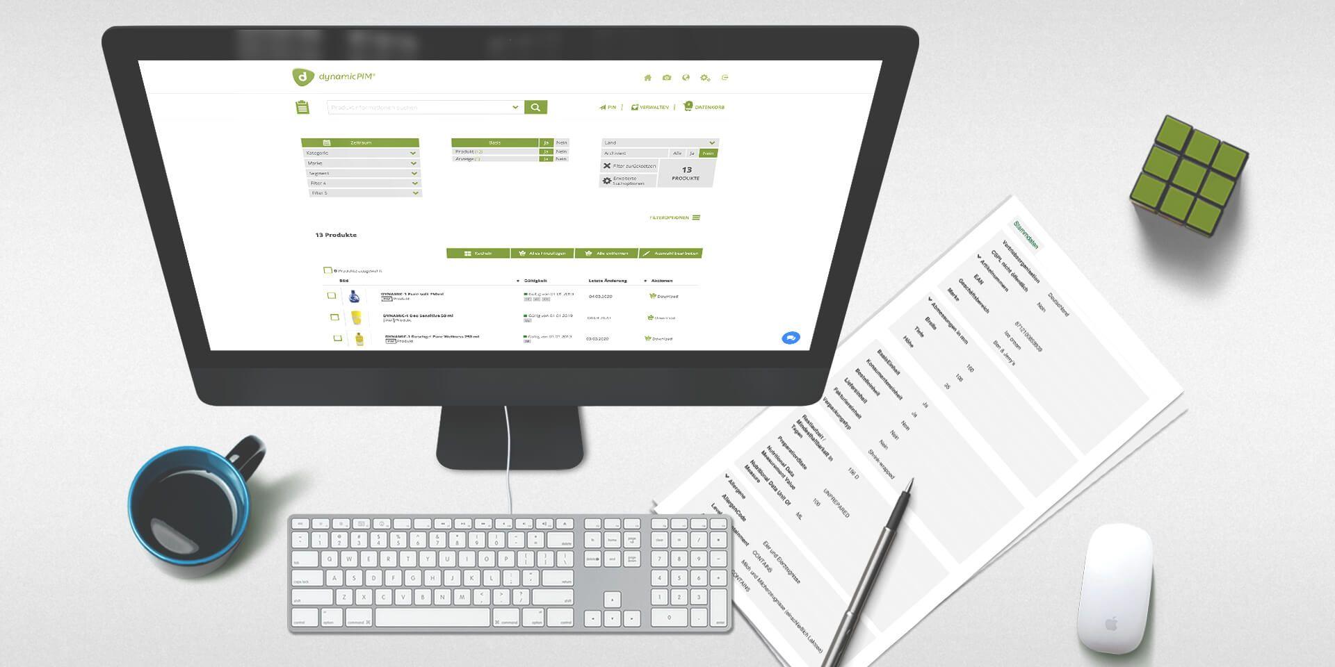 dynamicPIM®, das Product-Information-Management-System für Unternehmen, PIM-System