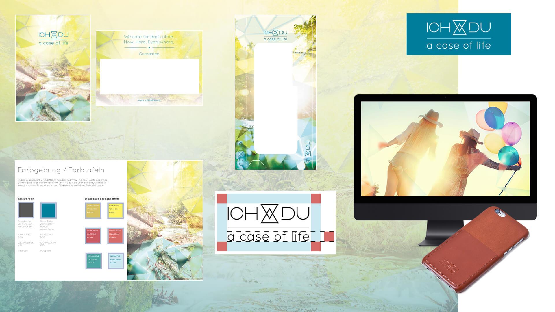 ICH&DU Kreation Marke